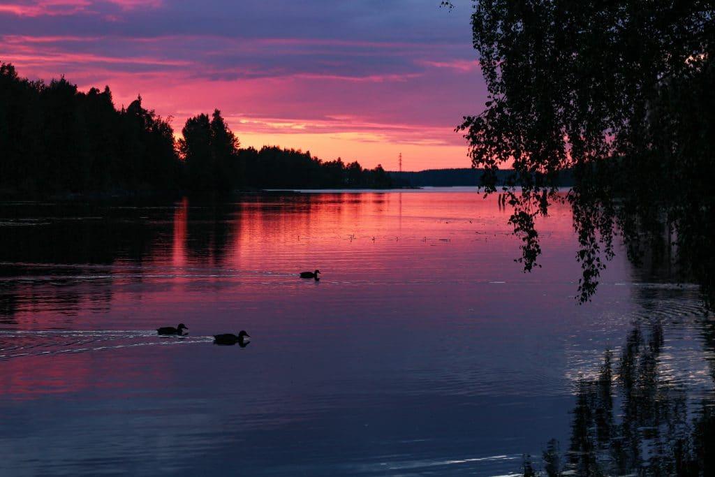 perheloma-saimaalla-lappeenrannan-uimaranta