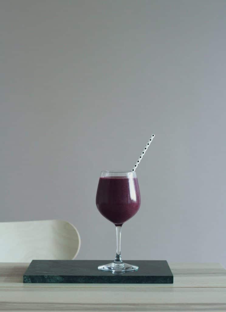 virkistava-mustikkasmoothie-resepti