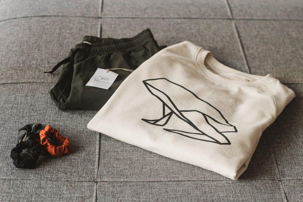 Népran vaatteissa yhdistyy laatu, minimalismi ja käytännölllisyys.